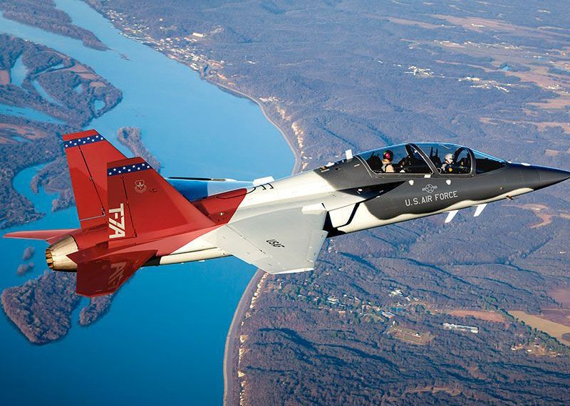 This is the name of the Air Force's new training jet