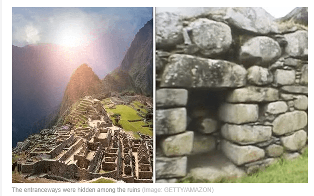 Archaeology breakthrough: How bizarre 'entranceway' was discovered hidden in Incan ruins