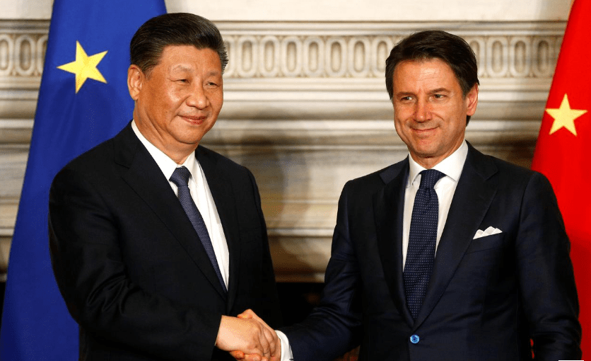 Italy signed deals worth 2.5 billion euros with China
