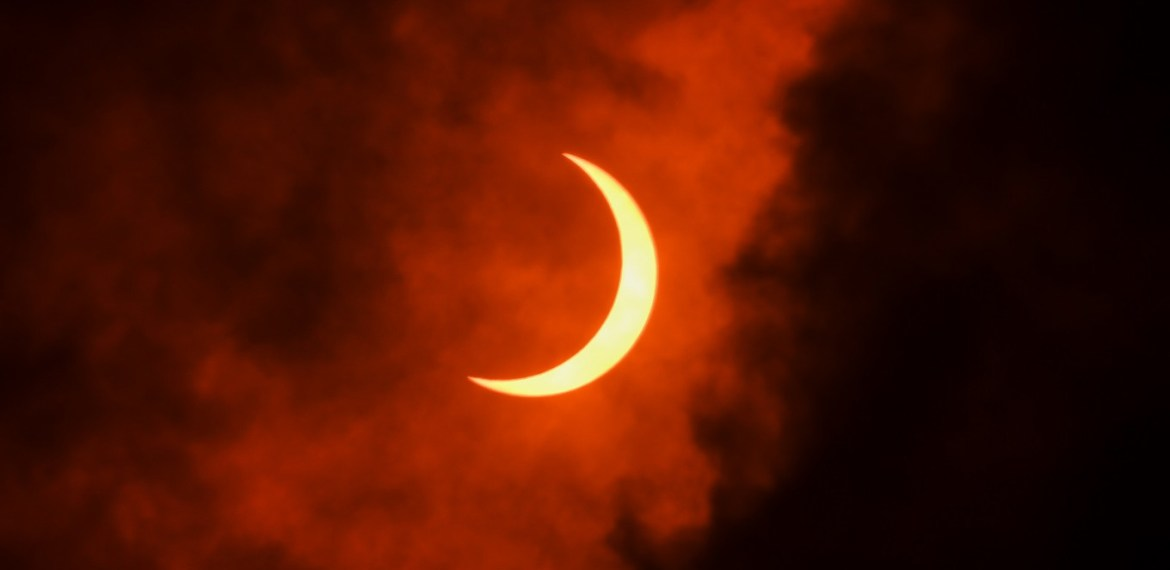 'Ring of fire' solar eclipse thrills skywatchers in Africa, Asia