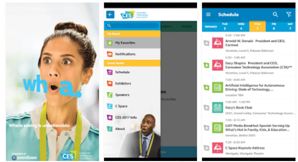 CES 2107 Mobile Apps