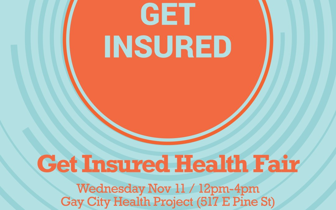 Get Insured Health Fair – Nov 11th