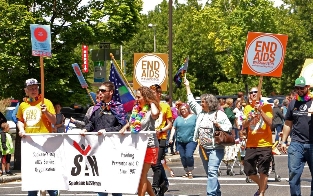 End AIDS Washington at Spokane Pride