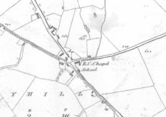 "First Edition 6"" Ordnance Survey Sheet For Tullystwon Cross, Co. Westmeath"