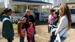 Fairdale mother of 4 was brave enough to save her entire family.