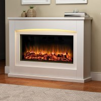 Danby Glass Fronted Electric Fire Suite - Endeavour Fires ...
