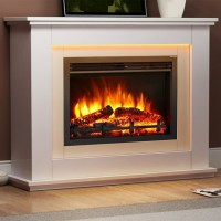 Castleton Electric Fireplace Suite - Endeavour Fires and ...