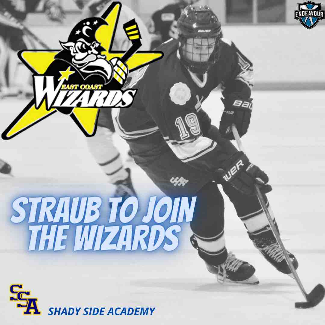 Straub to Join the Wizards from Shady Side Academy