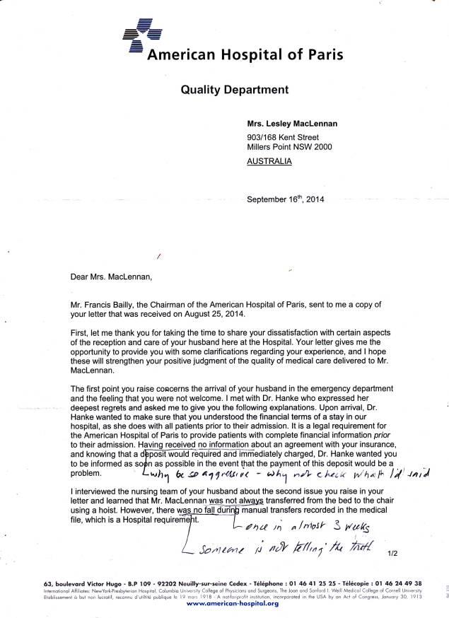 American Hospital letter0002