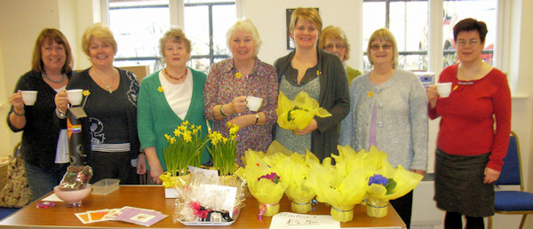 Supporters at Coffee Morning