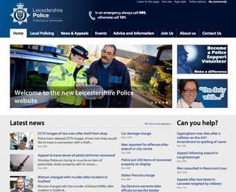 New police website