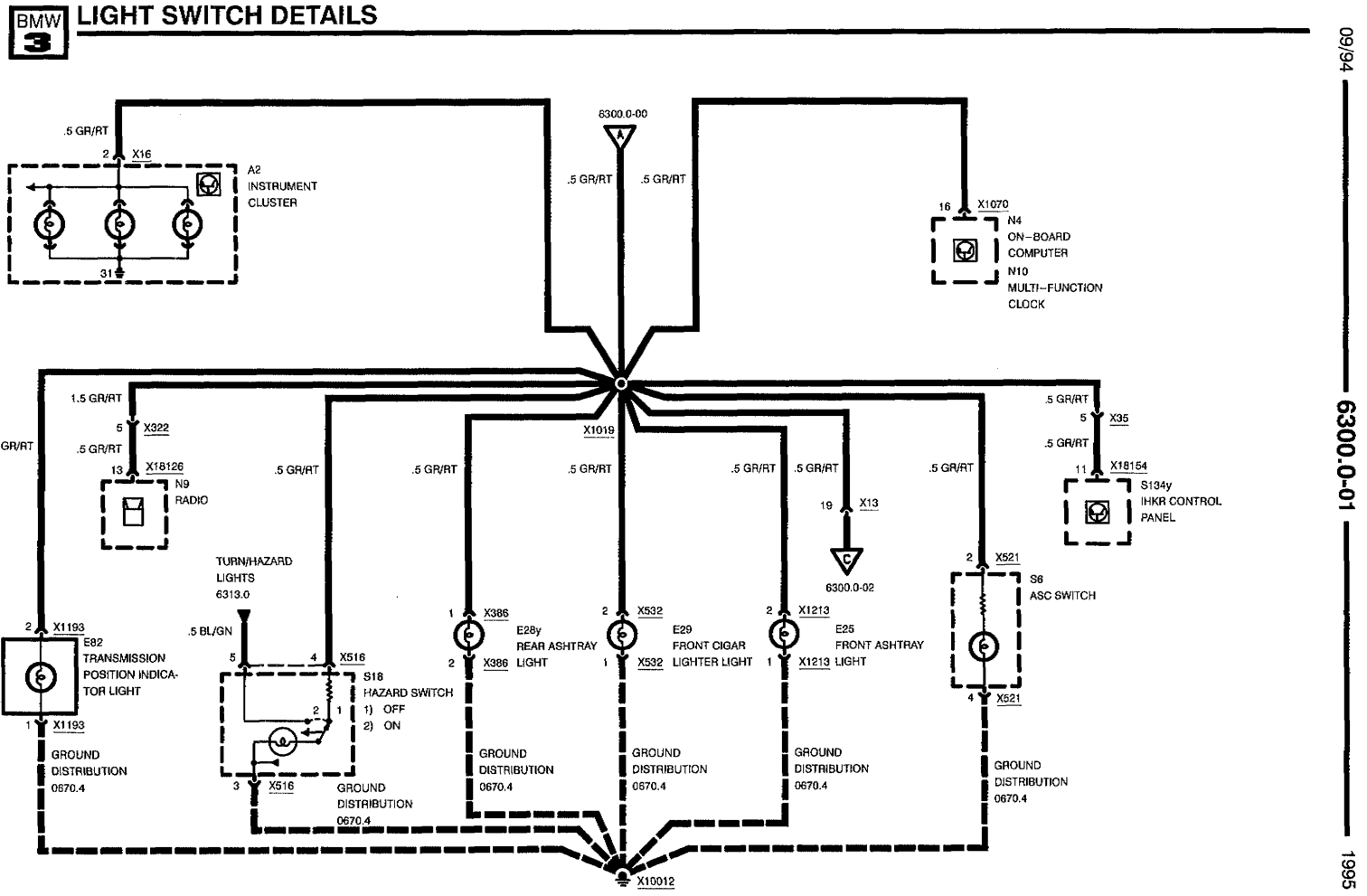 headlight dimmer switch wiring diagram ceiling fan electrical bmw e36m3 mechanical daydream