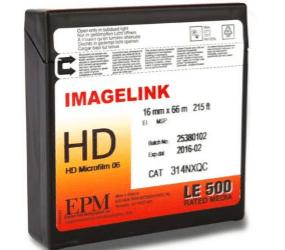Understanding IMAGELINK HD Microfilm