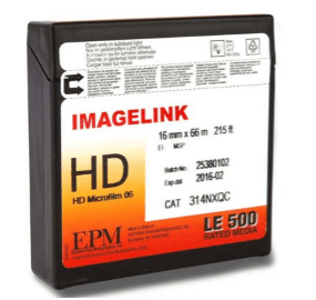 Microfilm Supplies: Uses of IMAGELINK HD Microfilm