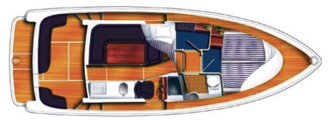 Aquador 32C layout