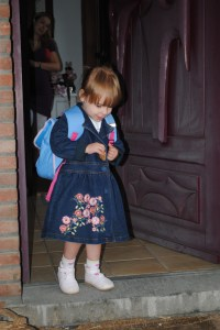eerste schooldag