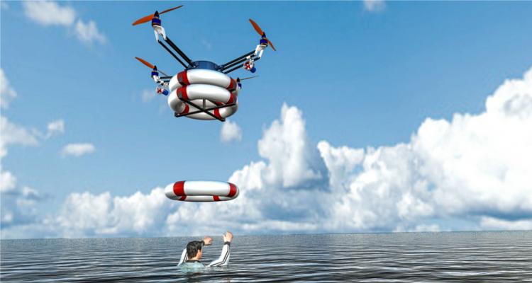 Drone - Sauvetage - Endi Pons