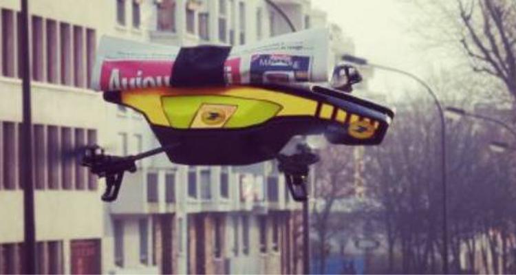 Drone - facteur - Endi Pons