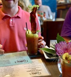 Bacon Bloody Mary at Luke Wholey's Alaskan Grille in the Strip District