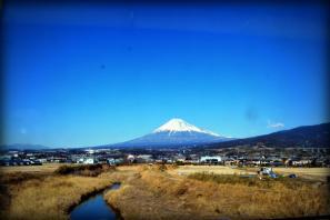 Mt Fuji by Train