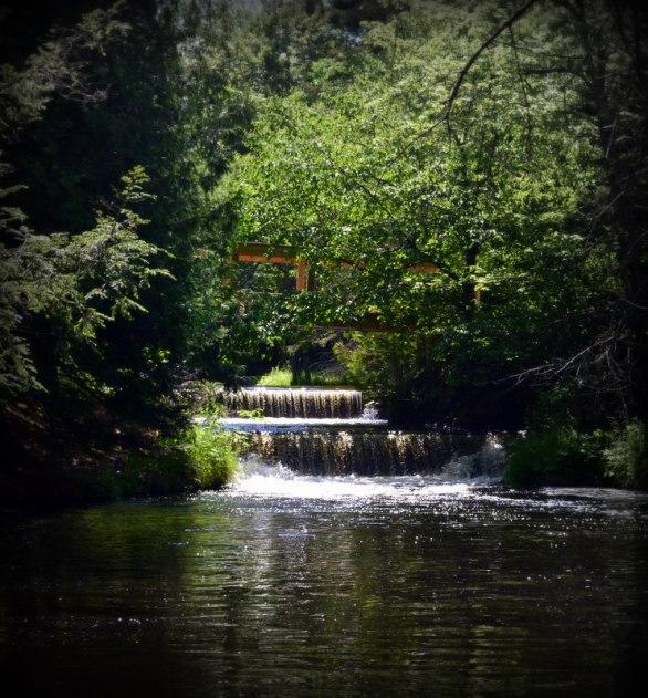 Upper Falls @ Bond Falls State Park