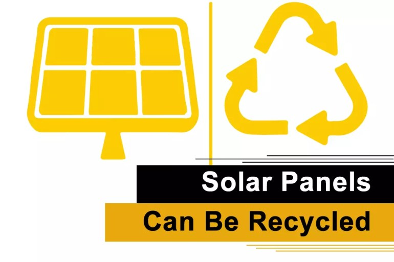 Can Solar Panels Be Recycled?