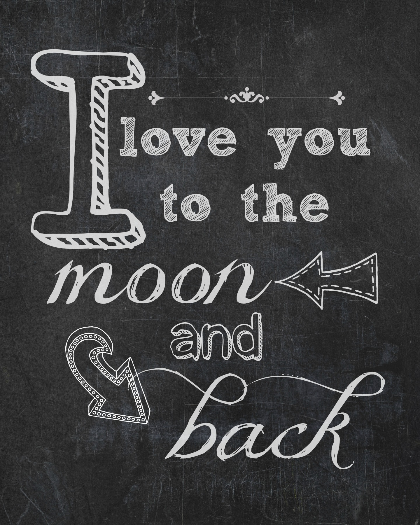 I Love You To The Moon Back Endlessly Inspired