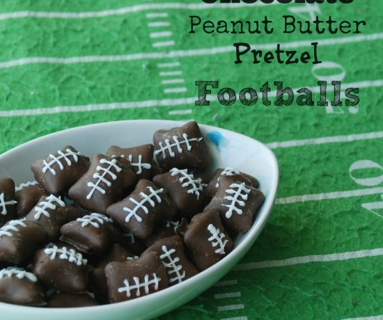 You won't believe how easy these adorable chocolate-covered, peanut butter-filled pretzel footballs are to make!