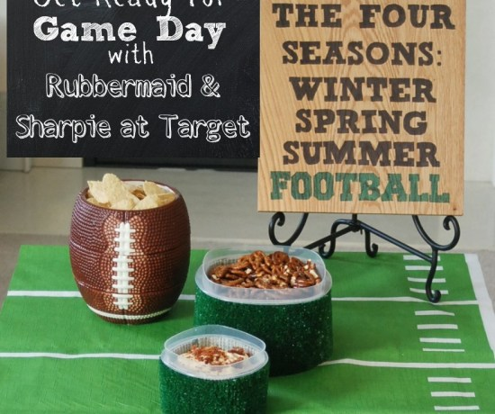 Get ready for the big game with Rubbermaid storage containers and Sharpie Markers! #RubbermaidSharpie #PMedia #ad