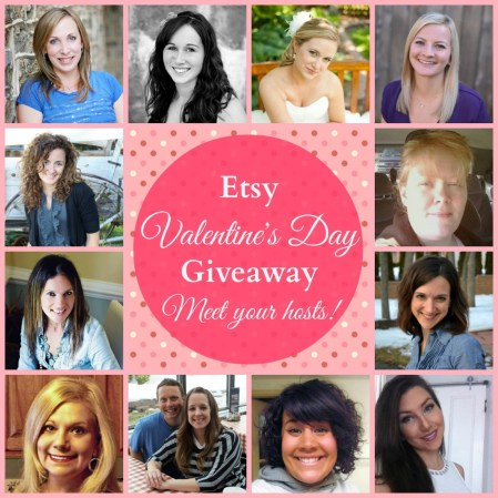 Check out this amazing Valentine's Day giveaway that features gifts from 15 Etsy shops!