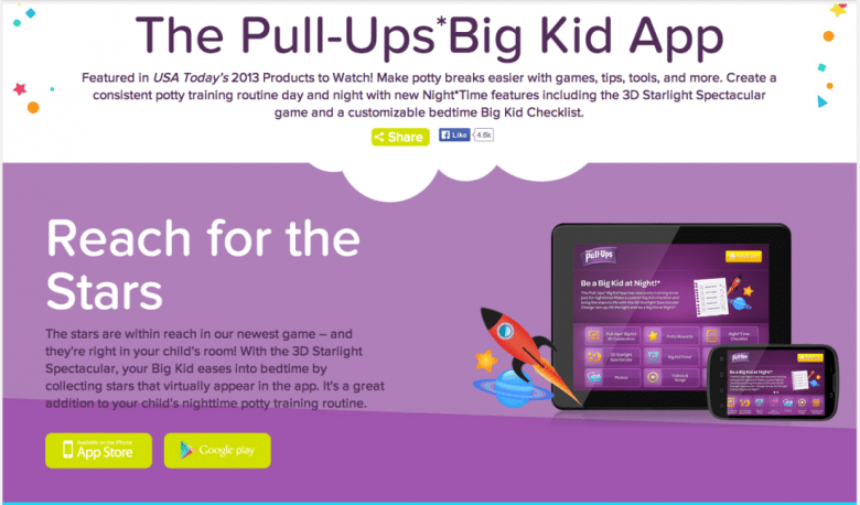 The Pull-Ups Big Kid Academy website has a ton of tools and resources for helping you potty train your child! #CelebrateFirstFlush #MC #Sponsored