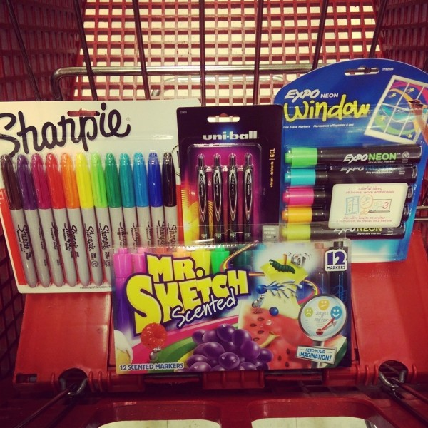 Create a fun, useful back-to-school teacher gift with school supplies from Office Depot! #InspireStudents #TeachersChangeLives #pmedia #ad