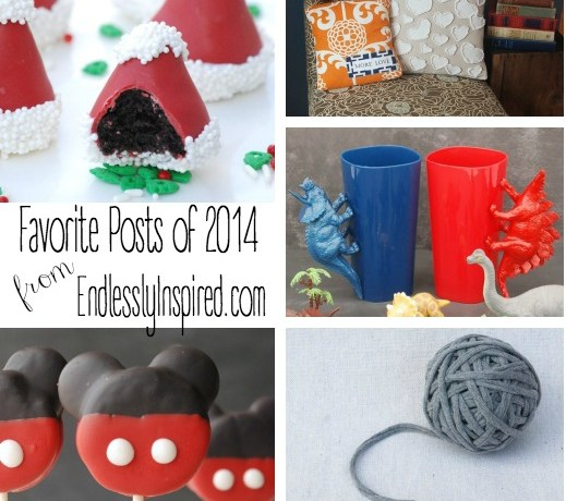 The most popular posts from EndlesslyInspired.com in 2014 -- there are some fabulous posts in here!!