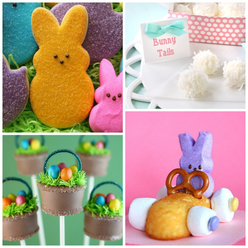 This is such an amazing collection of the cutest Easter treats I've ever seen! I will never be able to choose just one to make!