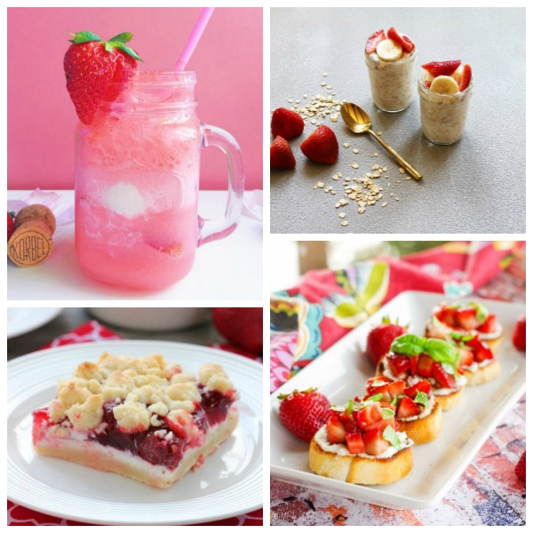 The Ultimate Strawberry Recipe collection -- 80 of the most amazing recipes that feature fresh strawberries. I cannot wait to make all of these!!