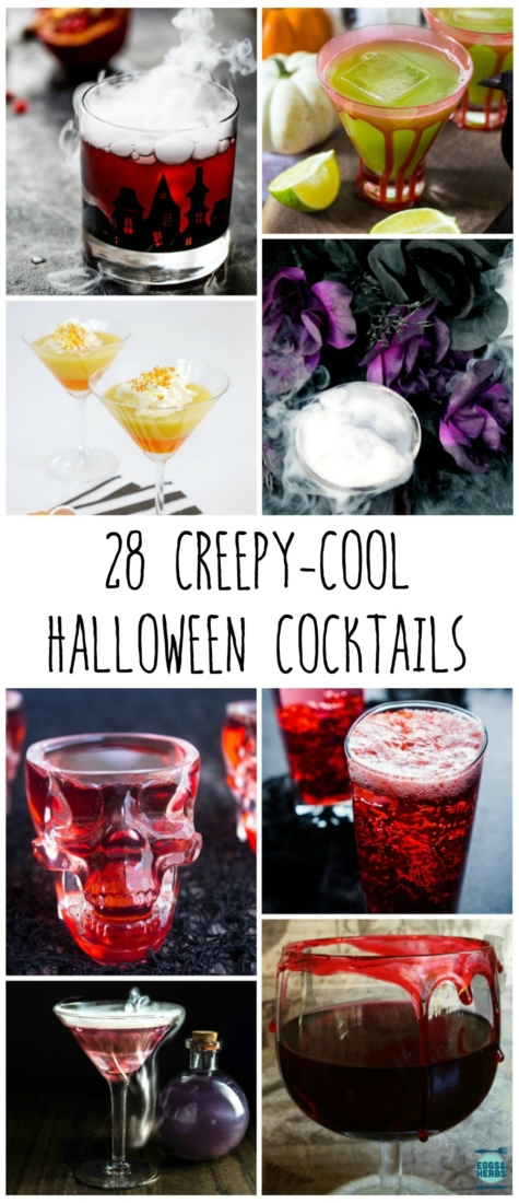 28 creepy and cool Halloween cocktails