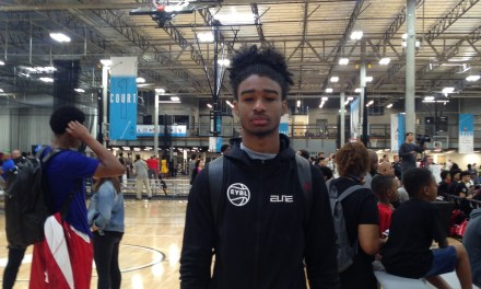 Coby White (18/Team CP3) 2017 EYBL Session 4 Highlights