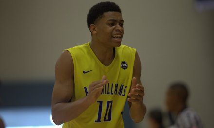 Keldon Johnson (18/Boo Williams) 2017 EYBL Session 4 Highlights