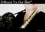 WHERE'D YA GET THAT? - Bedazzled Camera Strap