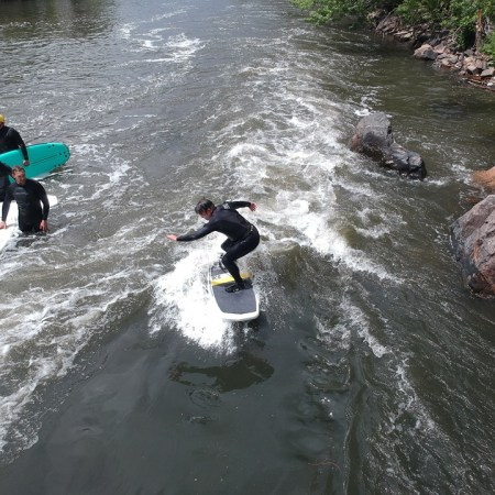 Surfing Denver's Beaver Wave
