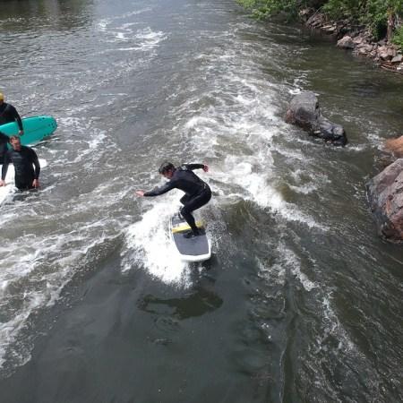 Surfing Denver's Beaver Wave