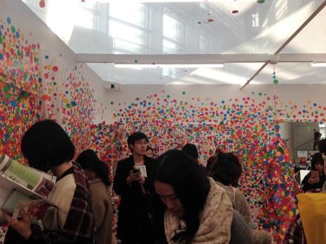 yayoi kusama - exhibit (14)
