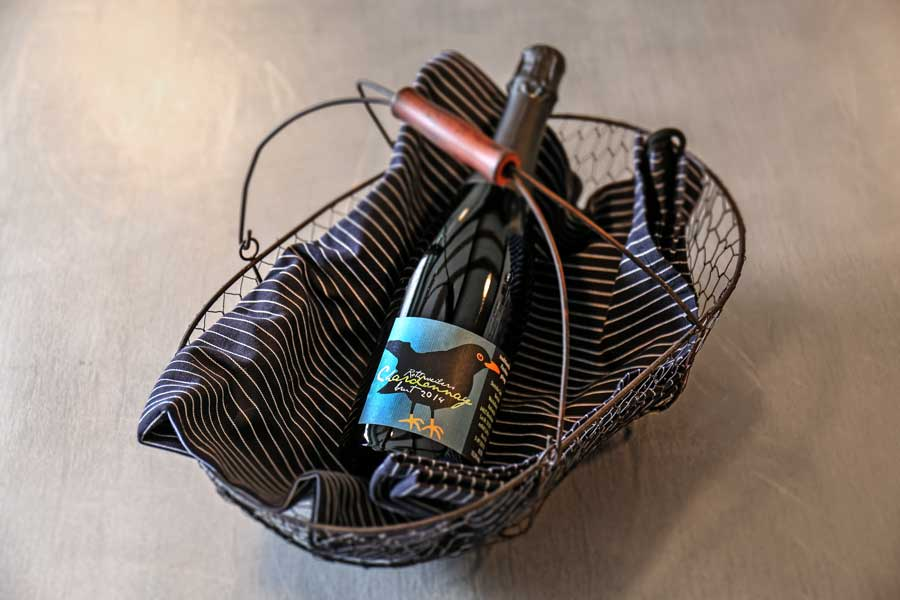 2014er Sekt: Rothweiler Chardonnay, brut; aus Bensheim-Auerbach an der Bergstraße