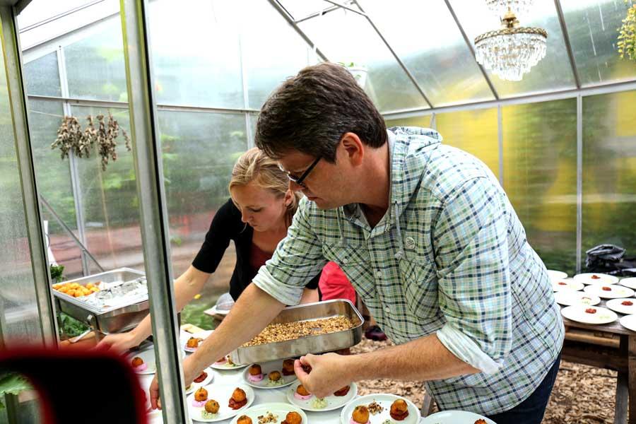 Tischlein deck dich von der Initiative Essbares Darmstadt