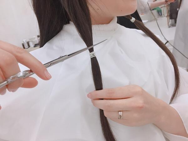ヘアドネーション♡NEWボブスタイルに!