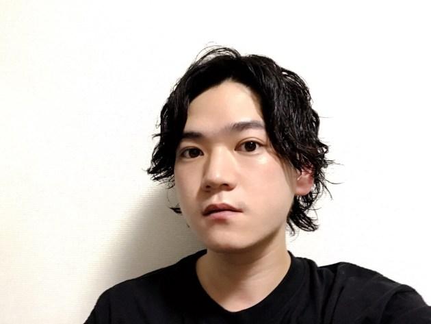 センターパートパーマ〜ワックス編〜
