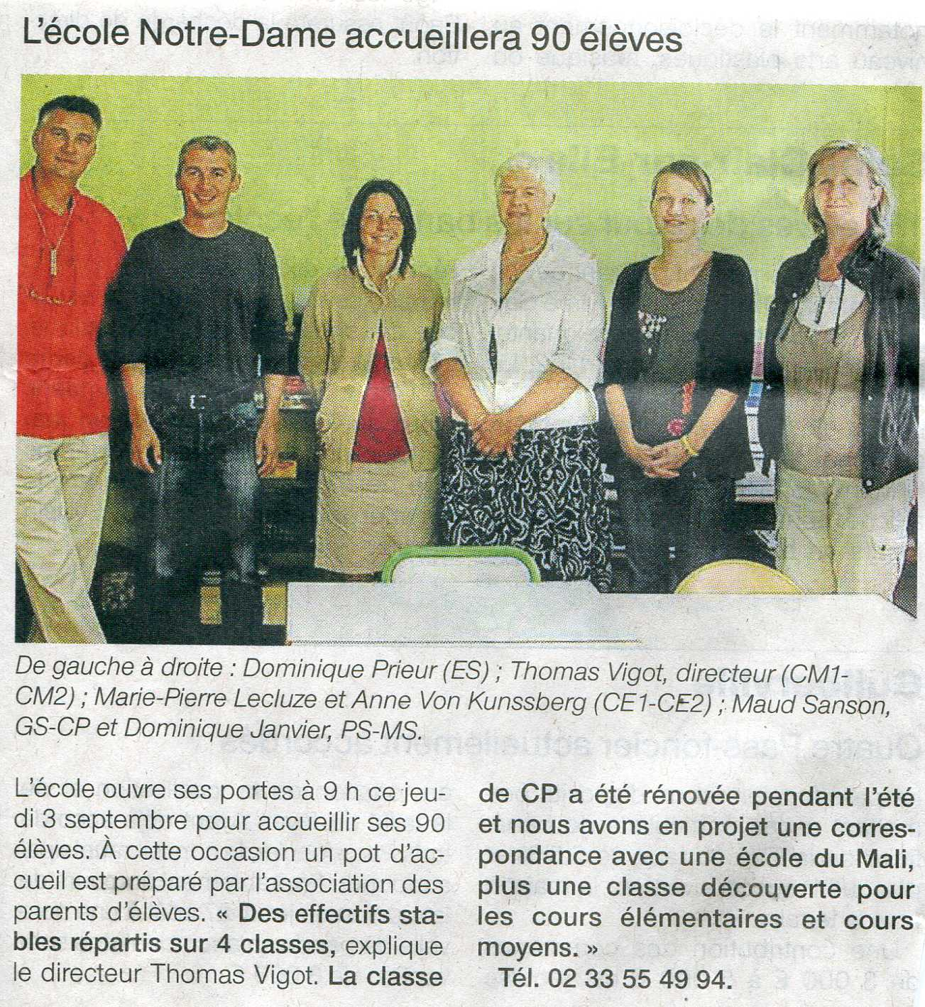 Ouest-France 3-09-2009