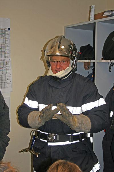 L'équipement du pompier pour l'incendie