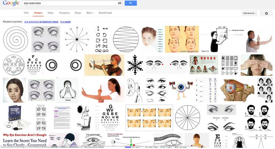 eye exercises google search