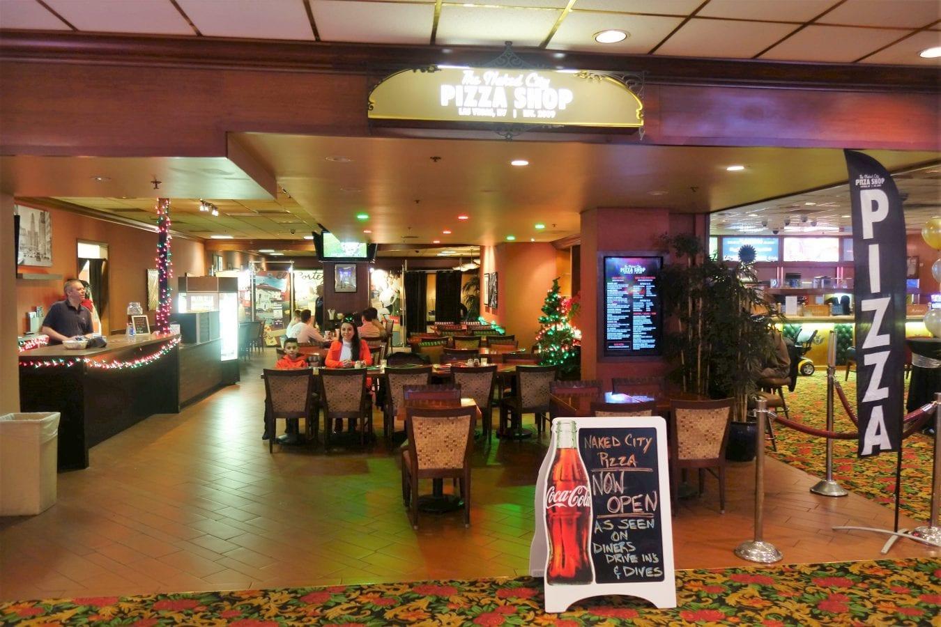 Naked City Pizza at The El Cortez [3,] Las Vegas NV   Endo